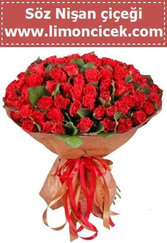 Kız isteme söz nişan çiçeği 101 gül  Ankara ostim çiçek gönderme sitemiz güvenlidir