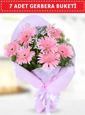 Pembe Gerbera Buketi  Ankara etimesgut çiçek , çiçekçi , çiçekçilik